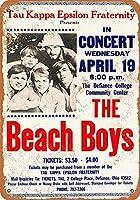 白い桜雑貨屋 看板 コカ 通販 レトロ ブリキ 1967 The Beach Boys in Ohio 壁飾 アンティーク メタル レトロ 看板 販売(20x30cm)