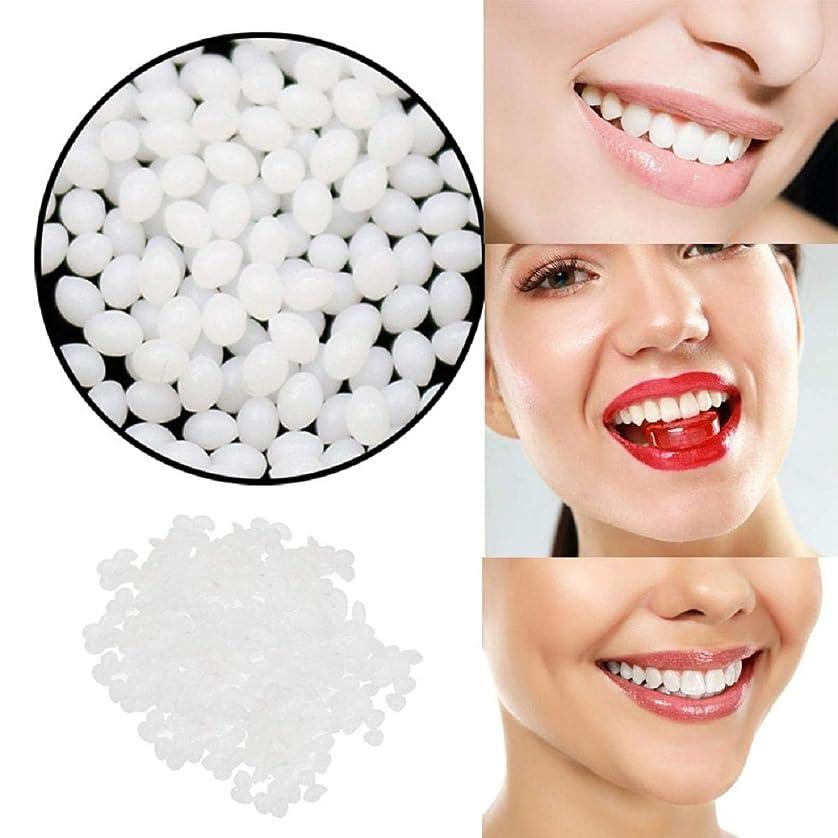 エキスパート苦難枕Barlingrock一時的な歯の修理歯キットとギャップ 固体接着剤ホワイト義歯接着ツール用女性