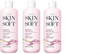 Avon Skin So Soft Soft and Sensual Body Lotion 11oz. Lot of 3