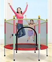 Indoor Fitness Trampoline Kids Trampoline met behuizing Netto Jumping Mat en Spring Cover Padding Outdoor Indoor Yard Tram...