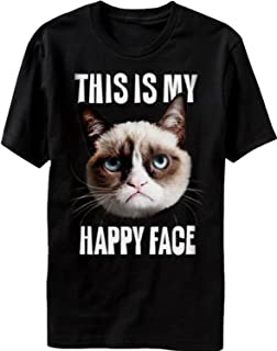 This is My Happy Face Grumpy Cat T-Shirt Official