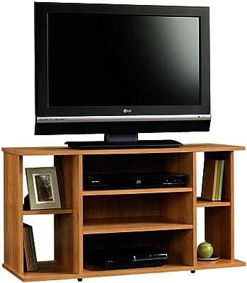 "Sauder Beginnings TV Stand, For TV's up to 42"", Highland Oak finish"