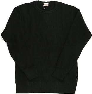 (ヘルスニット) Healthknit スーパー ヘビー ワッフル ロングスリーブ クルーネック Tシャツ カッソー メンズ レディース HK993