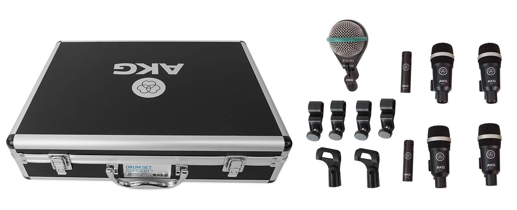 Microfono AKG Acoustics Drum Set Concert 1 Professional Drum