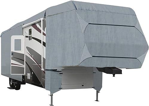 Deluxe 4-Layer 5th Wheel RV Motorhome Camper Cover 28/' 29/' 30/'L Zipper Access