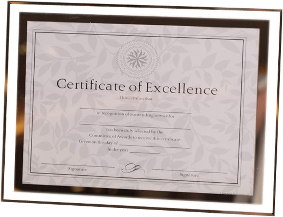 GracesDawn Crystal Glass Deluxe Photo Frame Pict Diploma Special price Document