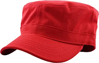 KBETHOS Cadet Army Cap Basic Everyday Military Style Hat (Now with STASH Pocket Version Available)
