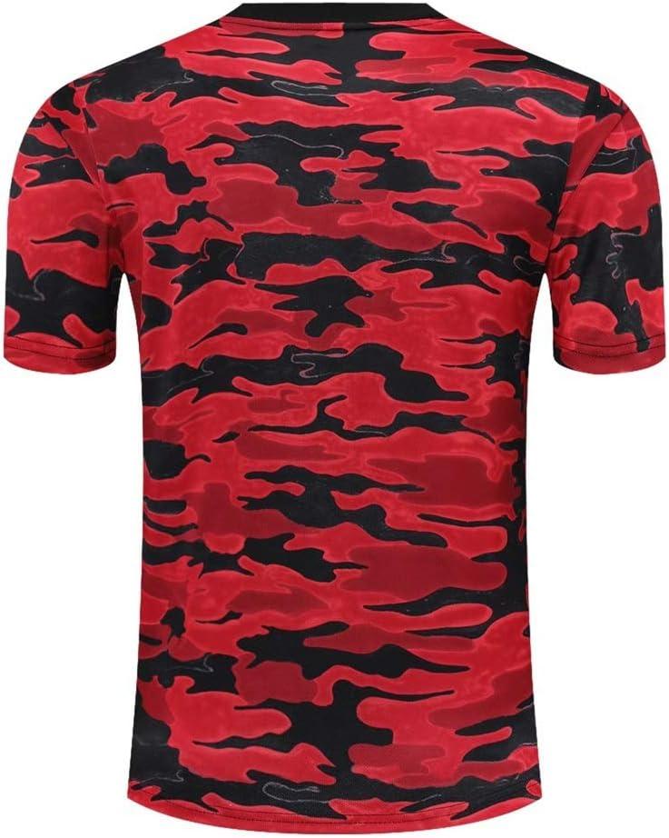 Pants Suit Manchester United Football Club Training Suit QJY Manchester United Team Mens Short-sleeved Shirt T-shirt