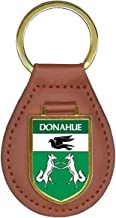 Donahue Family Crest Coat of Arms Lot of Total Key Chains