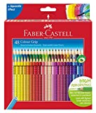 Faber-Castell 48 Colour Grip Pencil, 48 matite colorate con impugnatura