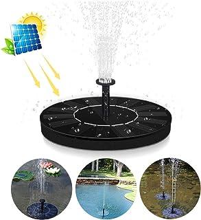 VEGKEY Bomba Solar para Estanque 6 Accesorios para pulverización de Agua, 2019, para estanques