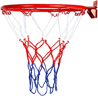 Sumerlly Basketball Goal Hoop Rim Net Wall Mounted Foldable for Indoor Outdoor Children