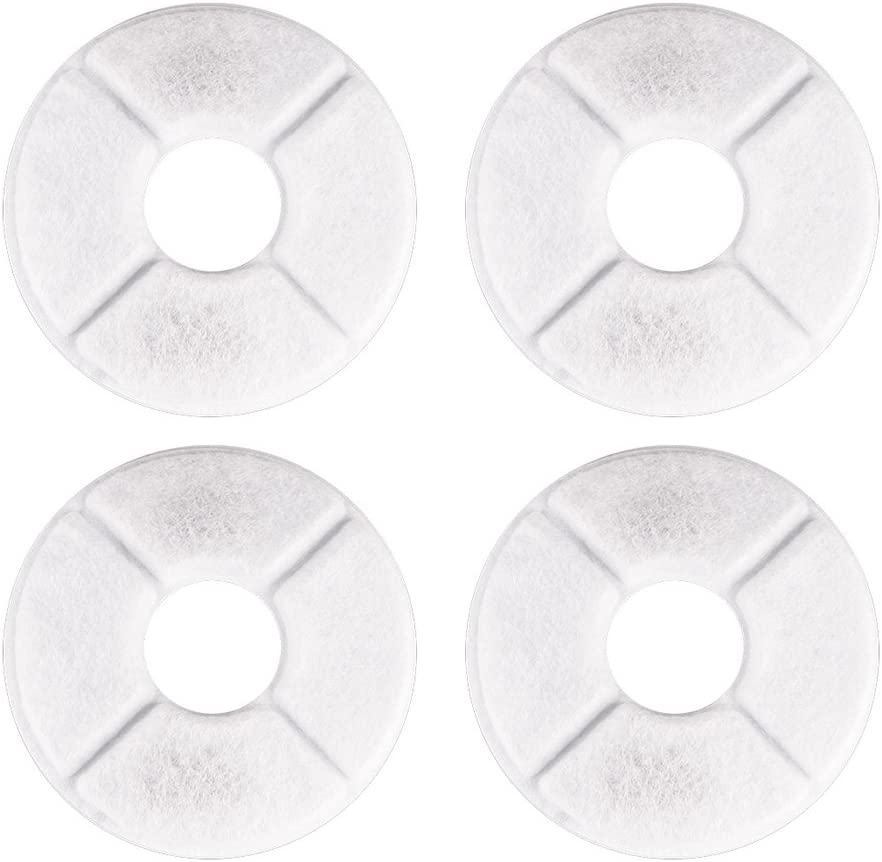 POPETPOP 4pcs Pet List price Water Fountain Filters Filter Be super welcome Wate Replacement