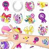 German Trendseller® - Pferde Kinder Tattoos - Set...