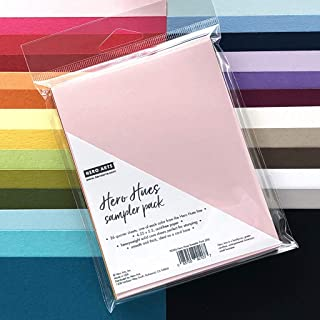 Hero Arts PS326 Hero Hues Cardstock, Sampler Pack, 4.25