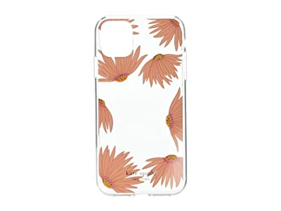 Kate Spade New York Jewel Grand Daisy Photo Frame Phone Case for iPhone(r) 11 (Clear Multi) Cell Phone Case