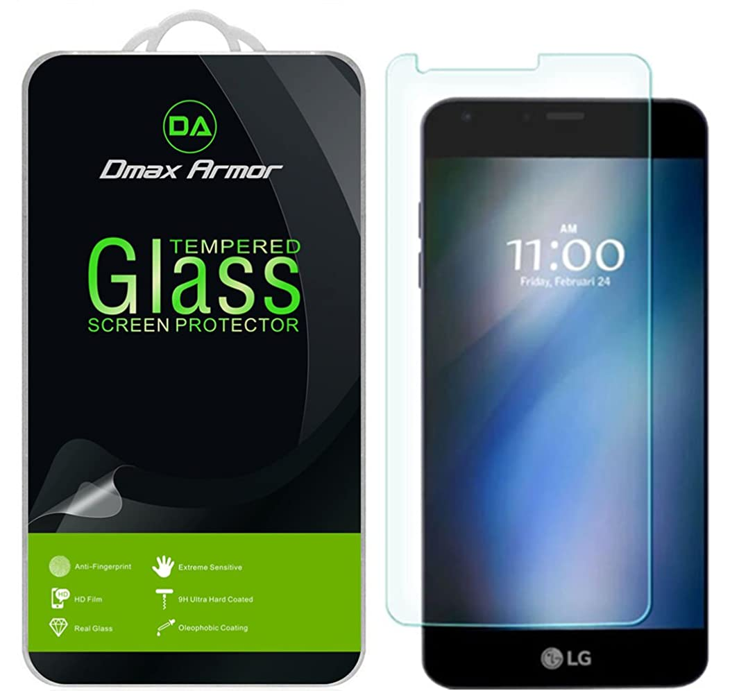Dmax Armor [2-Pack] for LG G6 / G6 Duo Screen Protector, [Tempered Glass] 0.3mm 9H Hardness, Anti-Scratch, Anti-Fingerprint, Bubble Free, Ultra-Clear