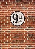 1art1 Ziegelstein-Mauern - Gleis Neundreiviertel, 2-Teilig