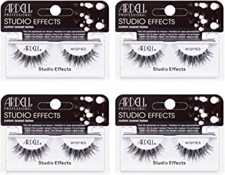 Ardell Studio Effects Wispies Black, 4 Pack