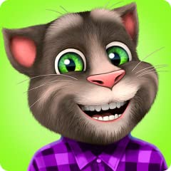 TALK TO TOM: Speak and he repeats what you say in a hilarious voice. It's so funny! PLAY WITH TOM: Stroke him, poke him, make him explode a paper bag, smash a pillow or even fart! The fun never ends with Tom. CUSTOMIZE TOM: Dress Tom up with new acce...