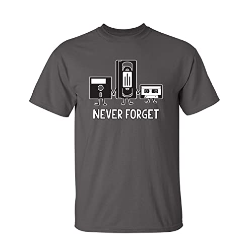 088bfc96 Never Forget Sarcastic Graphic Music Novelty Funny T Shirt