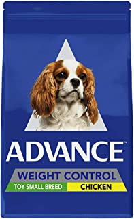 Advance Adult and Senior Weight Control Small 2.5kg Dog Dry Food