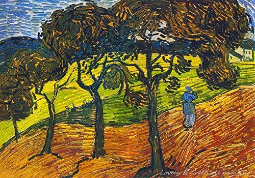 5D Diy Kits De Pintura De Diamante Obras Mujeres De Vincent Van Gogh Copia Hecha A Mano Impresionista Para Sala De Estar Decoración Del Hogar Arte De Punto De Cruz 40X50Cm