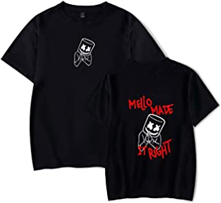 LATLONG marshmello tシャツ DJ マシュメロ ヒップホップ アウトウェア 上着 快適 通気 欧米 ファッション 通勤 通学 夏 男女兼用 59