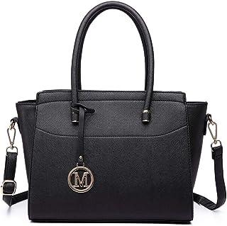 حقيبة يد نسائية من الجلد الصناعي المجنح حقيبة يد صغيرة الكتف من Miss Lulu