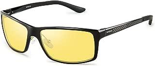 HD Night Driving Glasses Polarized Anti-glare Rain Day Night Vision Safe Glasses (Black)