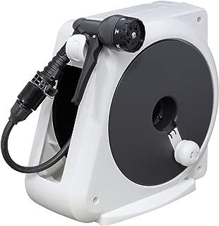 【Amazon.co.jp限定】WATER GEAR(ウォーターギア) ホース ホースリール オーロラnano 20m RM220WG コンパクト 安心の2年間保証