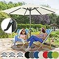 Miadomodo Garden Parasol Outdoor Patio Umbrella 7 DIFFERENT COLOURS