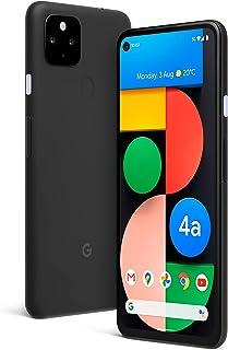 هاتف ذكي بكسل 4 ايه 2020 G025I بذاكرة داخلية 128 جيجا وذاكرة رام 6 جيجا واتصال 5 جي مع فك قفل مصنعي بلون اسود النسخة العال...