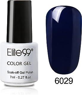 Elite99 Esmalte de Uñas 3 en 1 Esmaltes Semipermenentes para Uñas Uñas de Gel One Step Soak off Pintauñas de Colores pa...