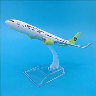 16CMボーイングB737ジンエアラインズエアライン飛行機模型玩具飛行機ダイキャスト合金1:1:400スケール