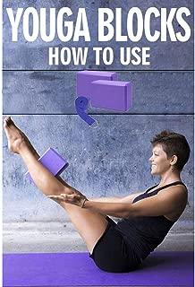 Soaring High Density EVA Foam Yoga Block 2 Pack & Yoga Strap Set