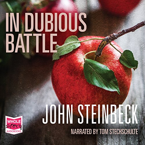 In Dubious Battle audiobook cover art