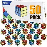 AROIC 50 Pack Mini Cubes, Puzzle Toys, Stress...