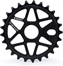 Salt Comp Sprocket 25t Black 23.8mm Spindle Hole With Adaptors for 19mm and