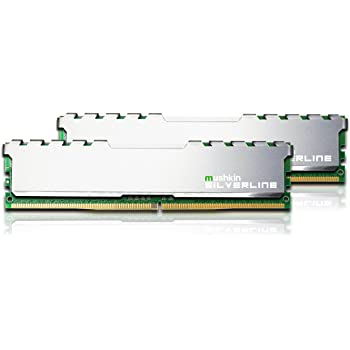 Mushkin SILVERLINE Series – DDR4 Desktop DRAM – 16GB (2x8GB) Memory Kit DIMM – 2133MHz (PC4-17000) CL-15 – 288-pin 1.2V RAM – Non-ECC – Dual-Channel – Stiletto V2 Silver Heatsink – (MSL4U213FF8GX2)