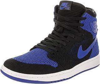 6ea5314e5f2a61 Jordan Nike Mens Air 1 High Flyknit Basketball Shoes
