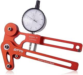 decwang Bike Spoke Tension Meter Wire Tension Wheel Set Wheel Ring Correction Meter Adjustment Wheel Correction Brake Adjustment Tool for Bicycle