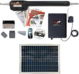 Mighty Mule MM560 Solar Package - Heavy Duty Single Gate Opener w/ 20 Watt Solar Panel