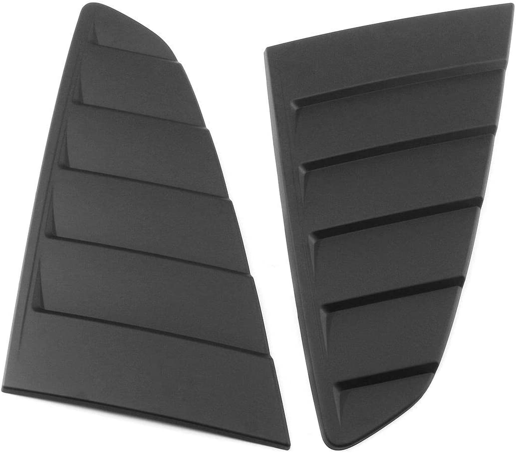GZBSTDQ Hood Vents 2Pcs Car Rear Side High Max 41% OFF material Window Cover Scoop Louvers