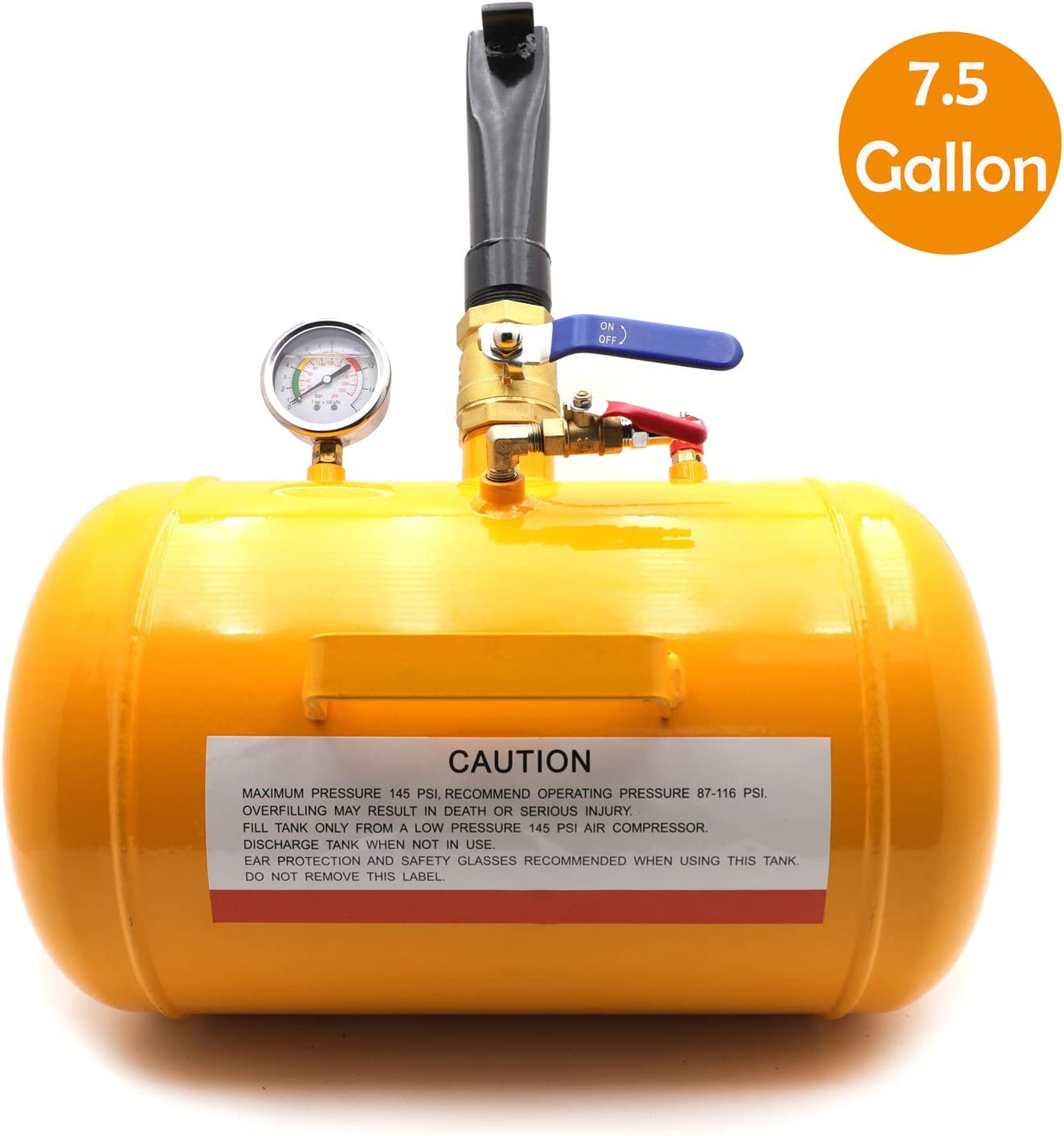 XKMT- 7.5 Gallon Vehicle Air Tire Blaster Our shop OFFers New Free Shipping the best service Seati Seater Tool Bead