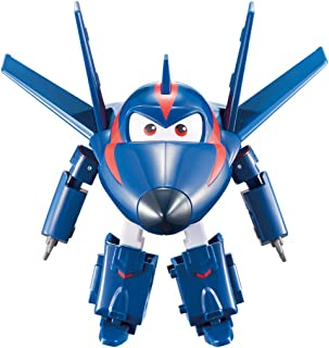 """Super Wings - Transforming Agent Chase Toy Figure   Plane   Bot   5"""" Scale"""