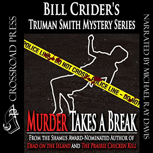 Murder Takes a Break audiobook cover art