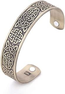 EUEAVAN Slavic Owl Symbol Celtic Knot Talisman Eternal Love Bracelet Easing Fatigue,Blood Circulation