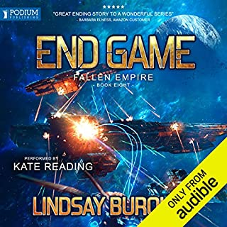 End Game                   By:                                                                                                                                 Lindsay Buroker                               Narrated by:                                                                                                                                 Kate Reading                      Length: 13 hrs and 59 mins     62 ratings     Overall 4.7