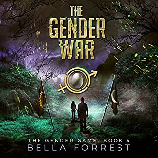 The Gender Game 4: The Gender War                    Written by:                                                                                                                                 Bella Forrest                               Narrated by:                                                                                                                                 Rebecca Soler,                                                                                        Jason Clarke                      Length: 11 hrs and 14 mins     7 ratings     Overall 4.6